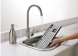 汚れは気にならない!水洗いできるキーボード「ロジクール ウォッシャブル キーボード K310」