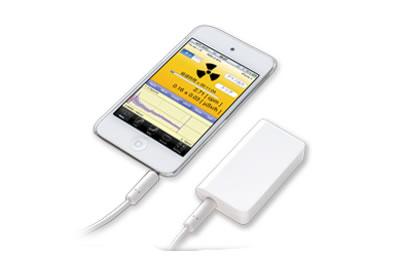 iPhoneやiPadでも放射線を測定する放射線センサー Pocket Geiger Type4