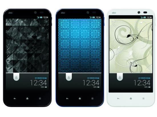 au初IGZO搭載スマホAQUOS PHONE SERIE SHL22の保護ケース、保護シート