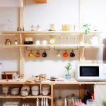 賃貸でもOK 穴あけ不要で棚など収納スペースが作れる「ディアウォール」活用アイデア