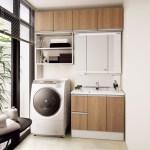 洗濯機の上に収納が欲しいと思ったときに参考になるDIY作品集
