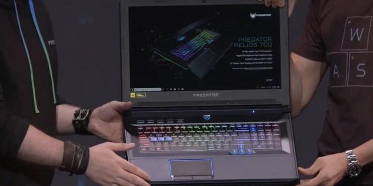 Acer Predator Helios 700. (RockPaperShotgun)