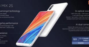 Spesifikasi dan Harga Xiaomi Mi Mix 2S