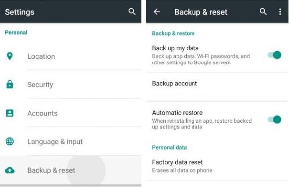 Cara Backup Data Android Menggunakan Google Backup