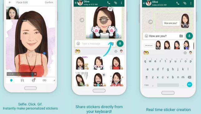 Cara Membuat Stiker Lucu Wajah Sendiri di Android dan iPhone