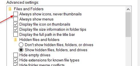 Cara Mengatasi Gambar Thumbnail Tidak Muncul di File Explorer Windows 10