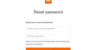 Cara Mengatasi Lupa Password Mi Cloud Dengan Mudah