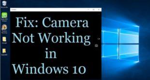 Cara Mengatasi Webcam Error di Windows 10 Anniversary Update
