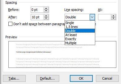 Cara Mengatur Jarak Spasi antar Karakter di Microsoft Word