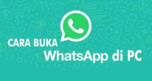 Cara Menggunakan dan Menjalankan WhatsApp di PC atau Laptop