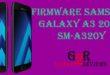 Firmware Samsung Galaxy A3 2017 SM-A320Y Indonesia