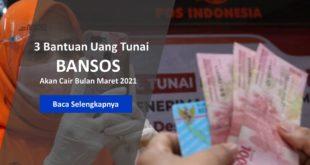 Bantuan Uang Tunai Ini Akan Disalurkan Maret 2021