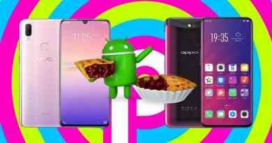 Android Pie with Vivo V11i and Oppo Find X 1024x538