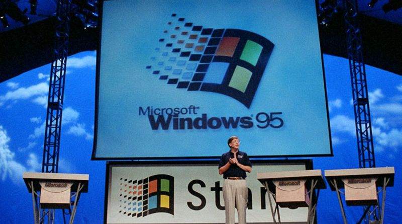 WINDOWS Windows 95 is 25 years old today