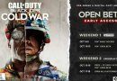 Call of Duty Black Ops Cold War, multiplayer trailer and experiential play, open beta schedule revealed