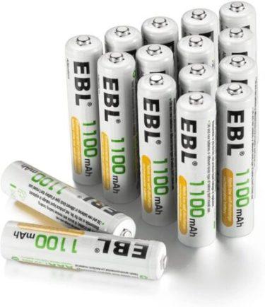 EBL  AAA Batteries.