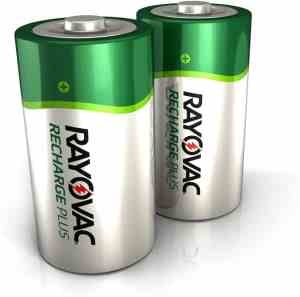 Rayovac Rechargeable D Batteries