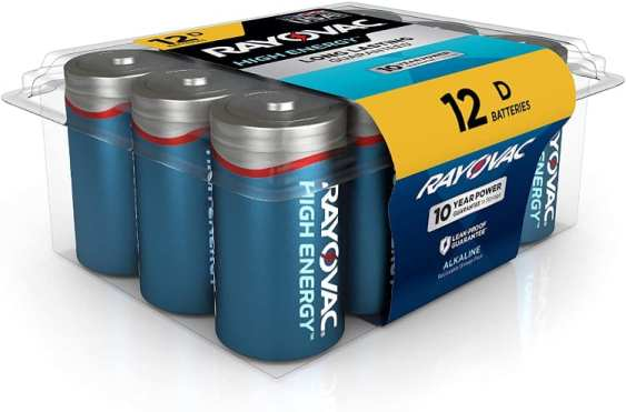Rayovac Alkaline Cell Batteries