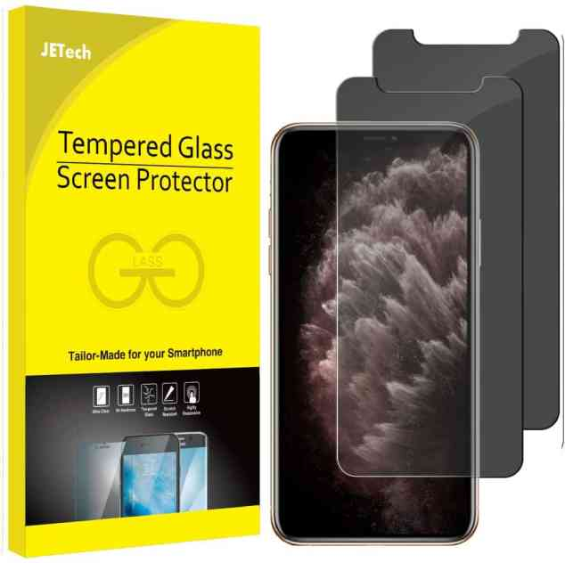JETech Privacy iPhone XS Screen Protector