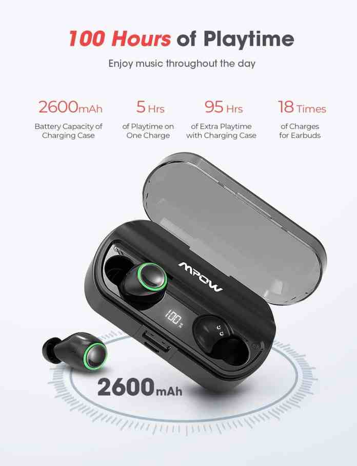 Mpow True Wireless Earbuds