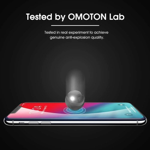OMOTON iPhone xs max screen protector