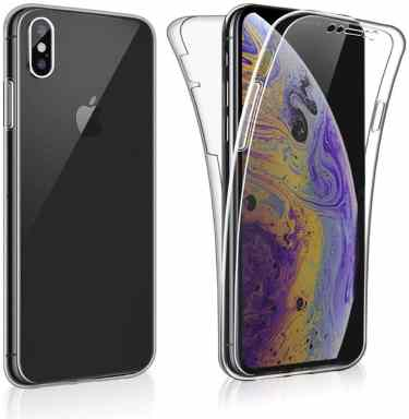 Silicone Gel Cover For iPhone XS MAX