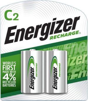 Energizer Rechargeable C Batteries