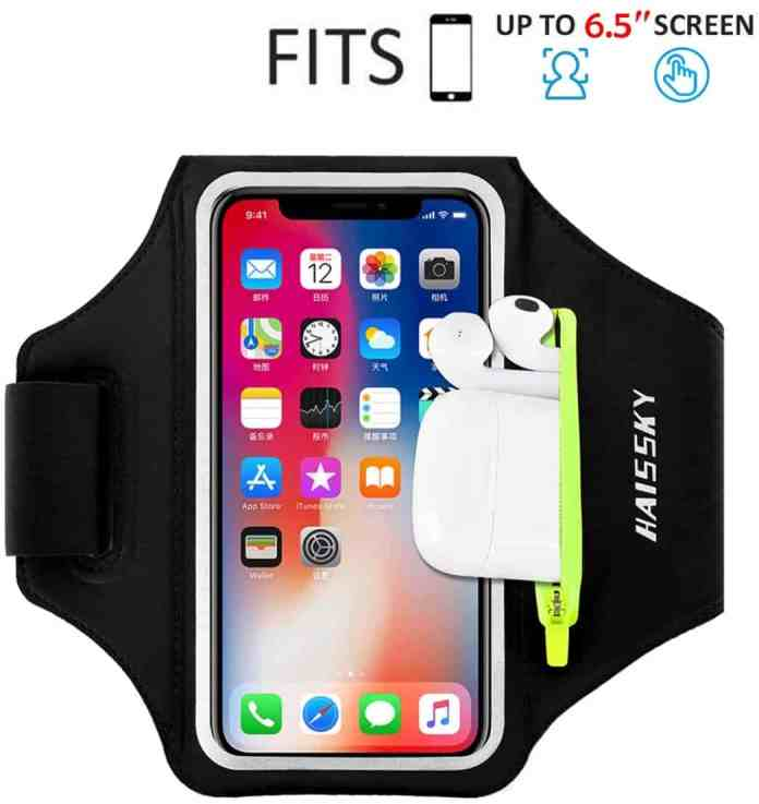 Haissky Running iPhone 11 Pro Max/XS Max Armband Case