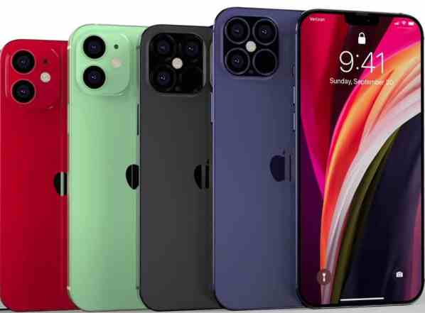 New iPhone 12 Colors