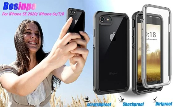 BESINPO iPhone SE 2020 Cover