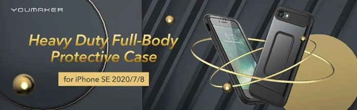 YOUMAKER iPhone SE 2020 360 Case