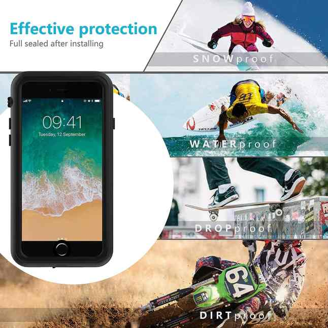 ORDTBY iPhone 8 waterproof case