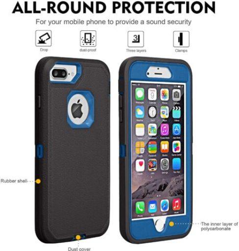 iPhone 8 plus defender case/cover