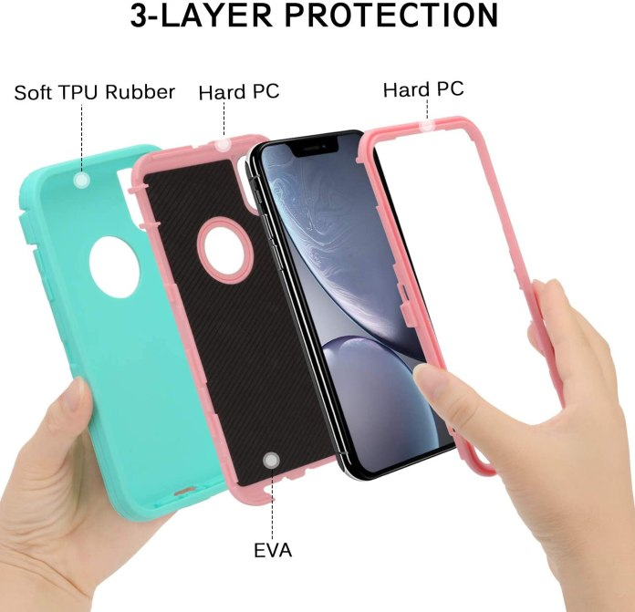 iPhone xr defender case/cover