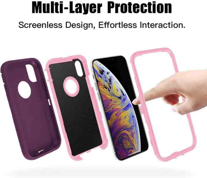 iPhone XS defender case/cover