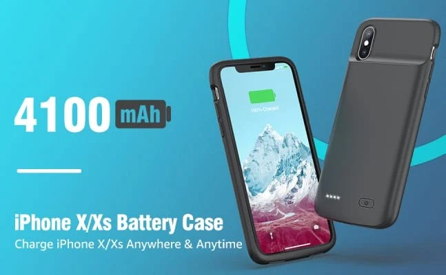 Omeetie iPhone X Battery case