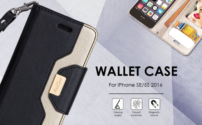 Procase iPhone 5s wallet case/cover