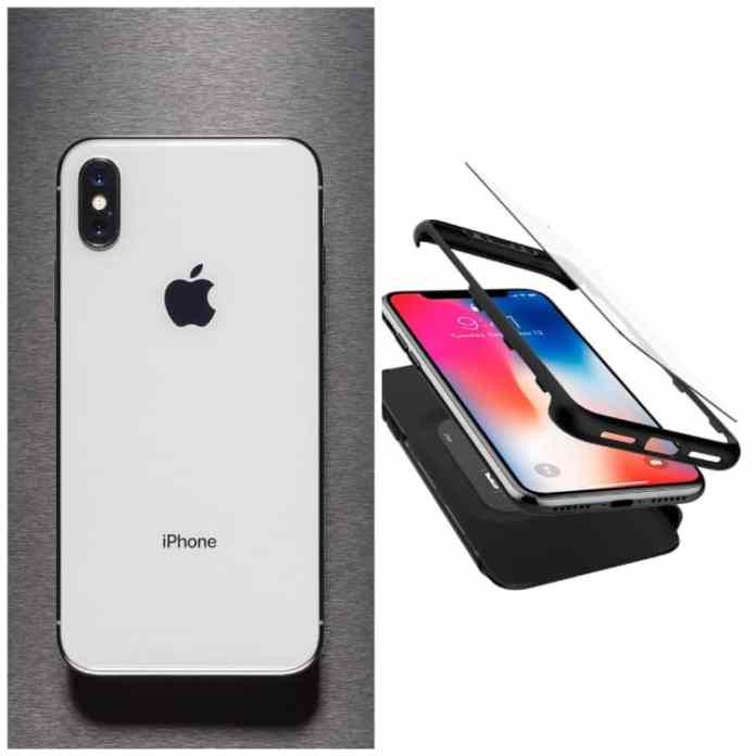 iPhone X 360 case