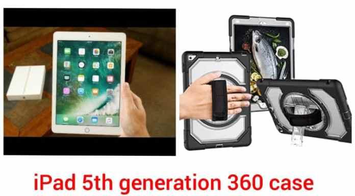 iPad 5th generation 360 Case