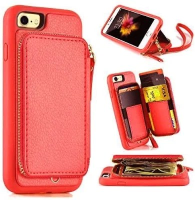 ZVE iPhone 8 Wallet Case/Cover
