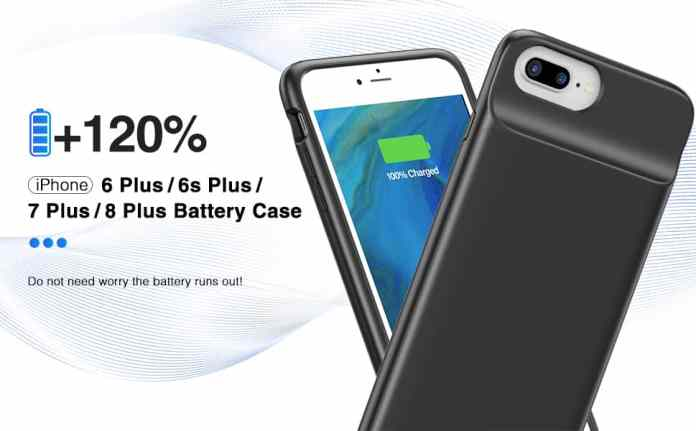 iPhone 6S Plus Battery/Charging Case/Cover