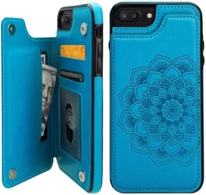 Vabrus iPhone 8 Plus Wallet Case/Cover