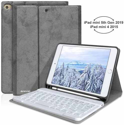BAIBAO foriPad Mini 4 Keyboard Case