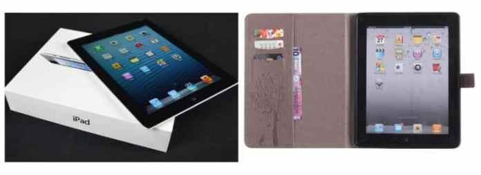 iPad 4 Wallet Case