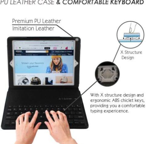 iPad 4 keyboard Case/Cover
