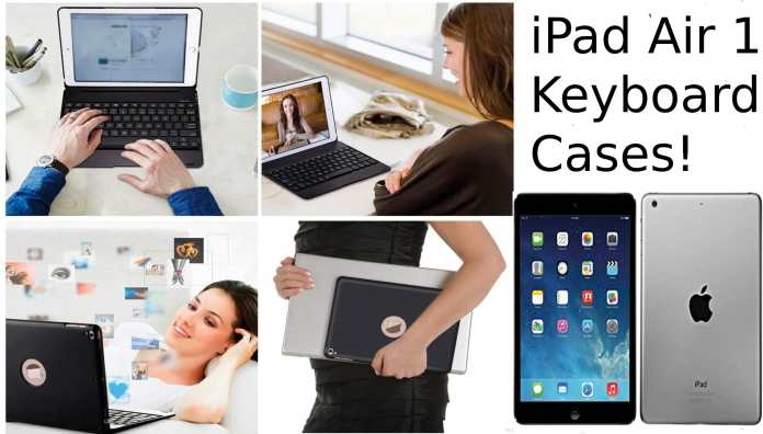 iPad Air 1 Keyboard Cases