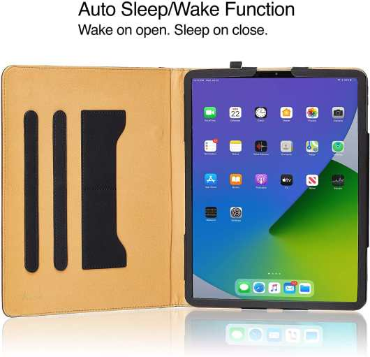 ipad pro 12.9 wallet case/cover