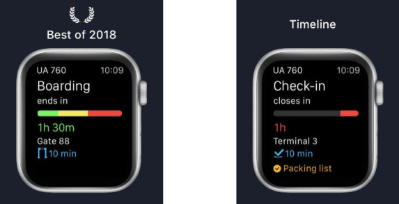 App in the Air apple watch apps