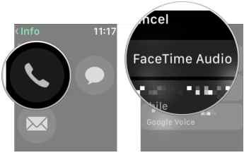 Facetime calls