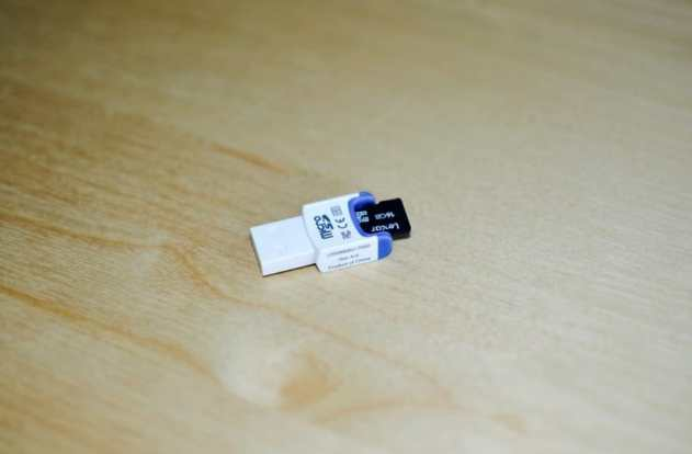 reformat your MicroSD card